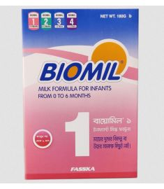 Biomil 1 Milk Powder (0-6 months) 180 gm