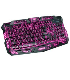 M200 3 Colours LED Backlight 10-Function Key Gaming Keyboard