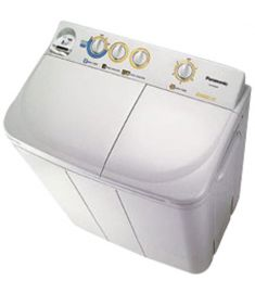 Panasonic Semi-Auto Twin Tub Washing Machine (NA-W8000)