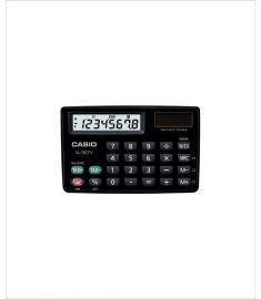 Casio SL-787TV-Bk-W Portable Calculator TWO WAY Power