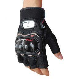 Pro Biker Half Gloves