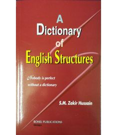 A Dictionary of English Structures