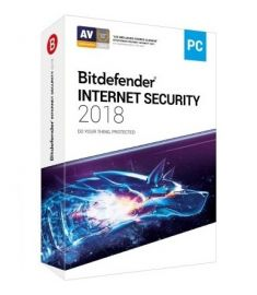 Bitdefender Internet Security 2018 1 User For 1 Year