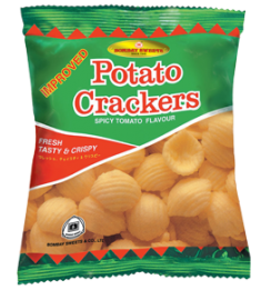 Bombay Sweets Potato Crackers