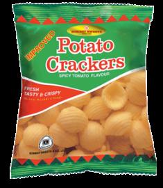 Bombay Sweets Potato Crackers