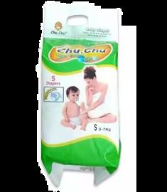 Chu Chu Diaper (Bangladesh) Diaper Belt 3-7 kg (S)/5 pcs