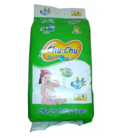 Chu Chu Diaper (Bangladesh) Diaper Belt 3-7 kg (S)/45 pcs