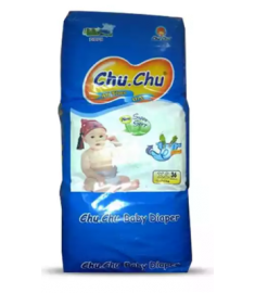 Chu Chu Diaper (Bangladesh) Diaper Belt 12-24  kg (XL)/36 pcs