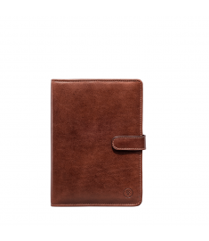 Dark Chocolate Artificial Leather Diary Book