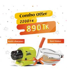Roti MAker, Knife Sharpner Combo Offer
