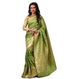 ইন্ডিয়ান বেনারসি কাতান শাড়ি ।। DPK83