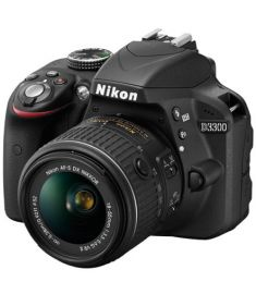 Nikon D3400 Bluetooth 24MP 18-55mm Lens DSLR Camera