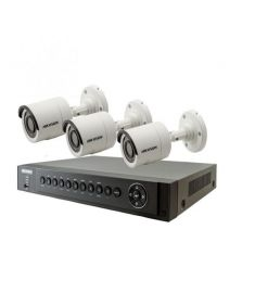 Hikvision CCTV Camera Package 3 Pcs - White