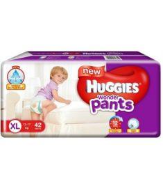 Huggies (India) Baby Diaper Wonder Pants: 12-17 Kg / 42 pcs