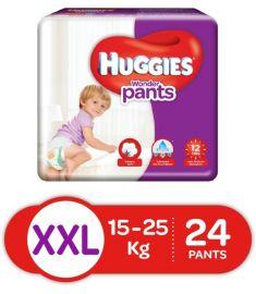 Huggies (India) Baby Diaper Wonder Pants: 15-25 Kg / 24 pcs