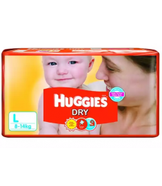 Huggies (India) Baby Diaper Belt: 8-14 Kg / 28 pcs