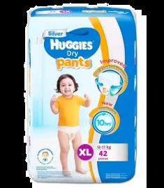 Huggies (Malaysia) Dry Pants Baby Diaper: 12-17 Kg / 42 pcs