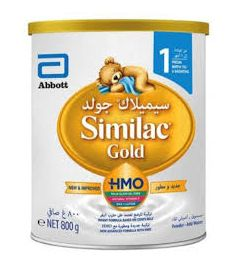 Similac Infant Formula 1 Tin (0-6 Months)