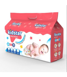 Kidstar Baby Diaper Medium 30 Pcs (6-11 Kg)