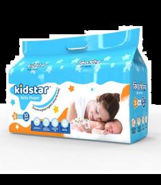 Kidstar Baby Diaper Small 32 Pcs (3-8 KG)