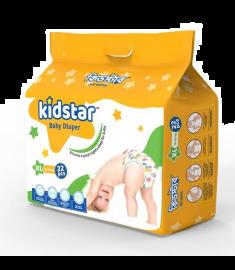 Kidstar Baby Diaper Extra Large 22 Pcs