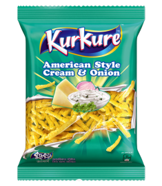 Kurkure American Style Cream & Onion Chips