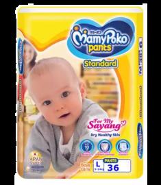 MamyPoko Standard (Japan) Pants Diaper Pant 9-14 kg (L)/36 pcs