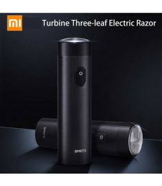 Mijia SMATE Portable Turbine Three-leaf Electric Razor – Black