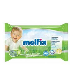 Molfix Baby Wet Wipes 60Pcs