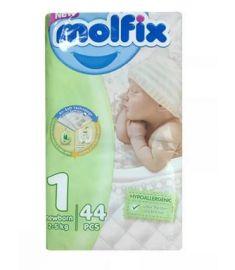 Molfix Diaper Belt System Newborn 2-5kg 44pcs