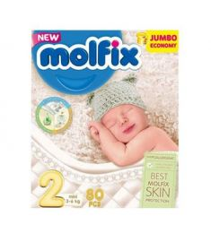 Molfix Diaper Belt System 2Mini 3-6kg 80pcs