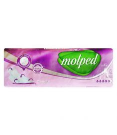 Molped Sanitary Napkins Classic Cotton Touch Long 08 pcs