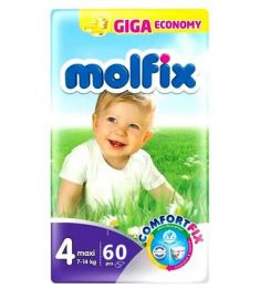 Molfix Diapers Belt System 4 Maxi 7-14kg 60pcs