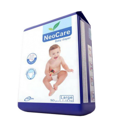 NeoCare Baby Belt Diaper L 7-18kg 50pcs
