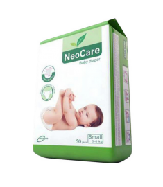 NeoCare Baby Belt Diaper S 3-6kg 50pcs