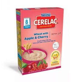 Nestlé Cerelac 2 Apple & Cherry (8 months +) BIB - 400 gm