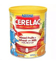 Nestlé Cerelac Mixed Fruits & Wheat With Milk (8 months +) Tin - 400 gm