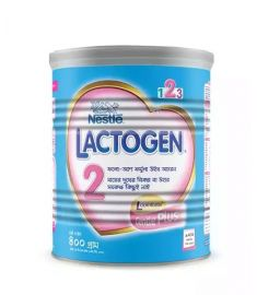 Nestlé LACTOGEN 2 Follow up Formula With Iron (6 months+) TIN - 400 gm