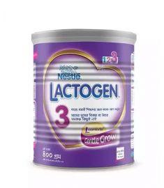 Nestlé LACTOGEN 3 Follow Up Formula (12 Month+) TIN - 400 gm