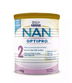 Nestlé NAN 2 Follow Up Formula With Optipro TIN - 400 gm