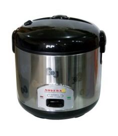Novena Stainless Steel Body Rice Cooker