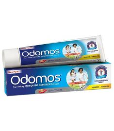 Odomos Naturals Non-Sticky Mosquito Repellent Cream (50 gm)