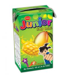 PRAN Junior Mango Fruit Drink 125 ml (5 pcs)