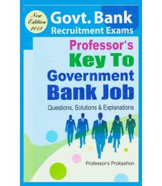 Professor's Key To Govt. Bank Job
