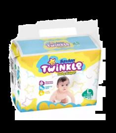 Savlon Twinkle Baby Diaper (Bangladesh) Diaper Belt 7-18 kg (L)/ 26 pcs