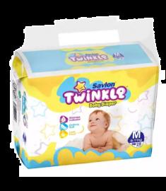 Savlon Twinkle Baby Diaper (Bangladesh) Diaper Belt 6-11 kg (M)/ 28 pcs