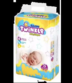 Savlon Twinkle Baby Diaper (Bangladesh) Diaper Belt 8 kg (S)/ 44 pcs