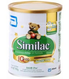 Similac Follow On Infant Formula 2 Tin (6-12 Months) - 900 gm