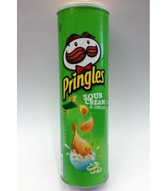 Pringles Potato Chips Sour Cream & Onion 147 gm