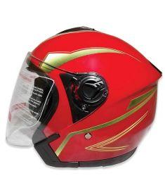 STM-007 ABS Half Face Bike Helmet